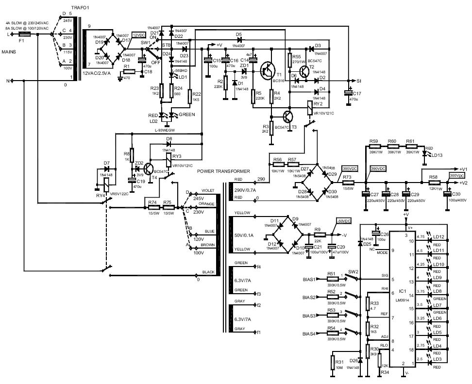 Endstufe mit KT88 - Expertenrat bzgl. Design gesucht